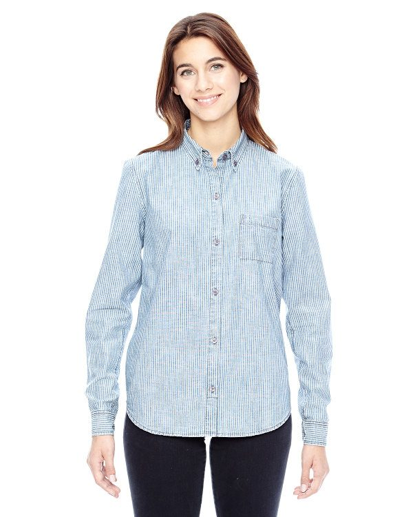 Alternative Ladies' Work Shirt Railroad