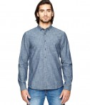 Alternative Men's Industry Shirt Chambray Blue