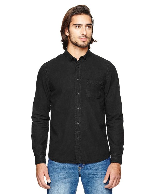 Alternative Men's Industry Shirt Vintage Black