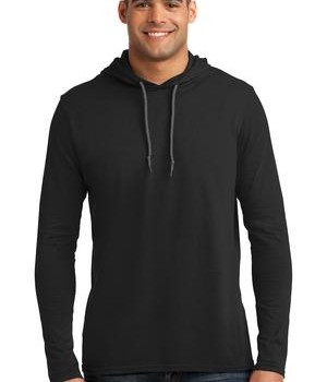 Anvil 100% Ring Spun Cotton Long Sleeve Hooded T-Shirt Style 987 1