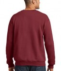 Anvil Crewneck Sweatshirt Style 71000 Independence Red Back