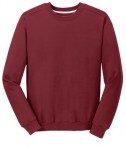 Anvil Crewneck Sweatshirt Style 71000 Independence Red Front Flat