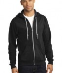 Anvil Full-Zip Hooded Sweatshirt Style 71600 Black
