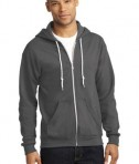 Anvil Full-Zip Hooded Sweatshirt Style 71600 Charcoal