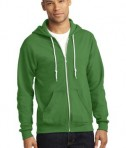 Anvil Full-Zip Hooded Sweatshirt Style 71600 Green Apple