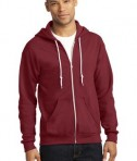 Anvil Full-Zip Hooded Sweatshirt Style 71600 Independence Red