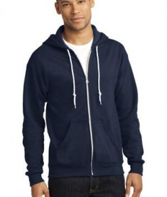 Anvil Full-Zip Hooded Sweatshirt Style 71600 Navy