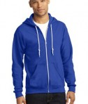 Anvil Full-Zip Hooded Sweatshirt Style 71600 Royal Blue