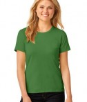 Anvil Ladies 100% Ring Spun Cotton T-Shirt Style 880 Green Apple