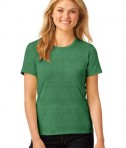 Anvil Ladies 100% Ring Spun Cotton T-Shirt Style 880 Heather Green