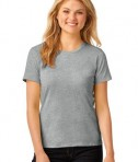 Anvil Ladies 100% Ring Spun Cotton T-Shirt Style 880 Heather Grey