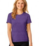 Anvil Ladies 100% Ring Spun Cotton T-Shirt Style 880 Heather Purple
