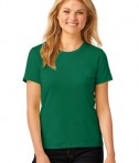 Anvil Ladies 100% Ring Spun Cotton T-Shirt Style 880 Kelly Green