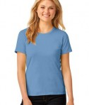 Anvil Ladies 100% Ring Spun Cotton T-Shirt Style 880 Light Blue