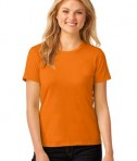 Anvil Ladies 100% Ring Spun Cotton T-Shirt Style 880 Mandarin Orange