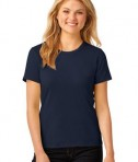 Anvil Ladies 100% Ring Spun Cotton T-Shirt Style 880 Navy