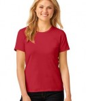 Anvil Ladies 100% Ring Spun Cotton T-Shirt Style 880 Red