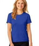 Anvil Ladies 100% Ring Spun Cotton T-Shirt Style 880 Royal
