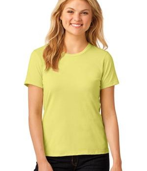Anvil Ladies 100% Ring Spun Cotton T-Shirt Style 880 Spring Yellow