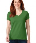 Anvil 88vl Ladies Cotton Neck Green Apple