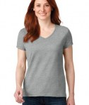 Anvil 88vl Ladies Cotton Neck Heather Grey