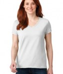 Anvil 88vl Ladies Cotton Neck White