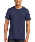 Anvil 980 Ring Spun Cotton T-Shirt Heather Blue