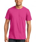 Anvil 980 Ring Spun Cotton T-Shirt Hot Pink