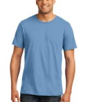 Anvil 980 Ring Spun Cotton T-Shirt Light Blue