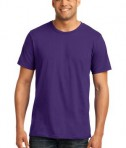 Anvil 980 Ring Spun Cotton T-Shirt Purple