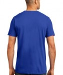 Anvil 980 Ring Spun Cotton T-Shirt Royal Blue Back