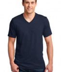 Anvil 100% Ring Spun Cotton V-Neck T-Shirt Style 982 Navy