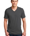 Anvil 100% Ring Spun Cotton V-Neck T-Shirt Style 982 Smoke