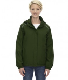 Ash City - Core 365 Ladies' Brisk Insulated Jacket Forest Green