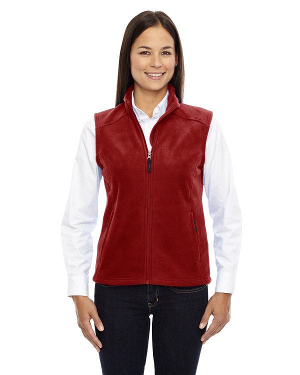 ash-city-core-365-ladies-journey-fleece-vest-classic-red