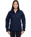Ash City - Core 365 Ladies' Region 3-in-1 Jacket with Fleece Liner Classic Navy