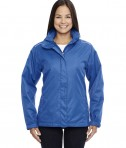 Ash City - Core 365 Ladies' Region 3-in-1 Jacket with Fleece Liner True Royal