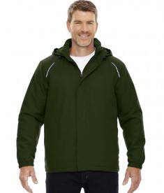 Ash City - Core 365 Men's Brisk Insulated Jacket Forest Green