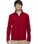 Ash City - Core 365 Men's Cruise Two-Layer Fleece Bonded Soft Shell Jacket Classic Red