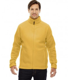 Ash City - Core 365 Men's Journey Fleece Jacket Campus Gold