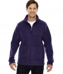 Ash City - Core 365 Men's Journey Fleece Jacket Campus Purple