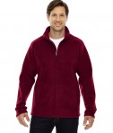 Ash City - Core 365 Men's Journey Fleece Jacket Classic Red