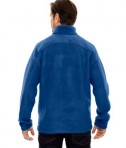 Ash City - Core 365 Men's Journey Fleece Jacket True Royal Back