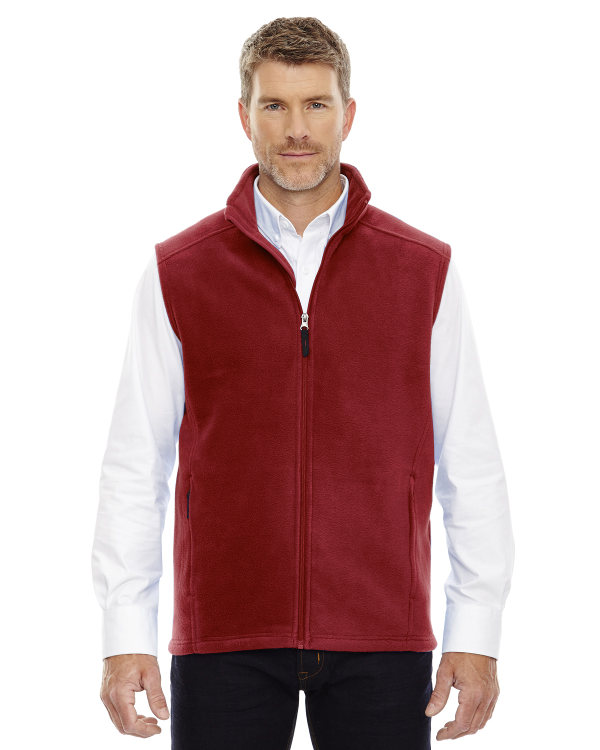 Red Fleece Jacket Men - Pl Jackets