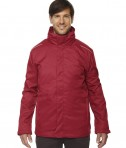 Ash City - Core 365 Men's Region 3-in-1 Jacket with Fleece Liner Classic Red