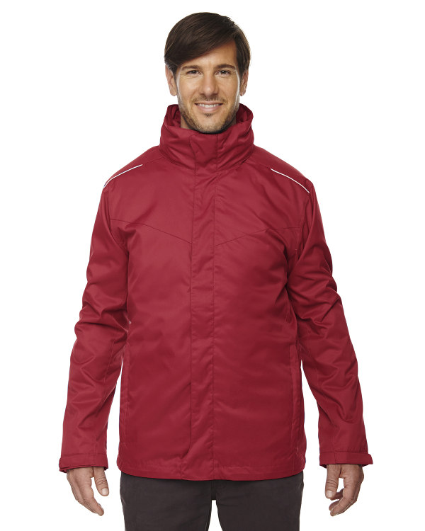 Ash City - Core 365 Men's Region 3-in-1 Jacket with Fleece Liner