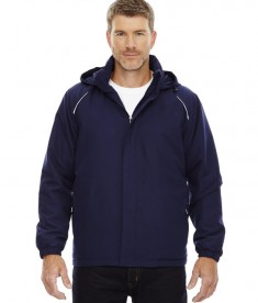 Ash City - Core 365 Men's Tall Brisk Insulated Jacket Classic Navy
