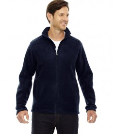 Ash City - Core 365 Men's Tall Journey Fleece Jacket Classic Navy