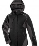 Ash City - North End Avalanche Ladies' Color-Block Insulated Jacket Black