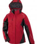 Ash City - North End Avalanche Ladies' Color-Block Insulated Jacket Molten Red